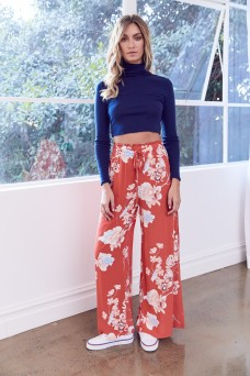 Jaase Polly Coral Pant