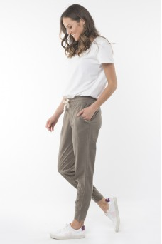 Elm Washout Lounge Pant Washed Khaki