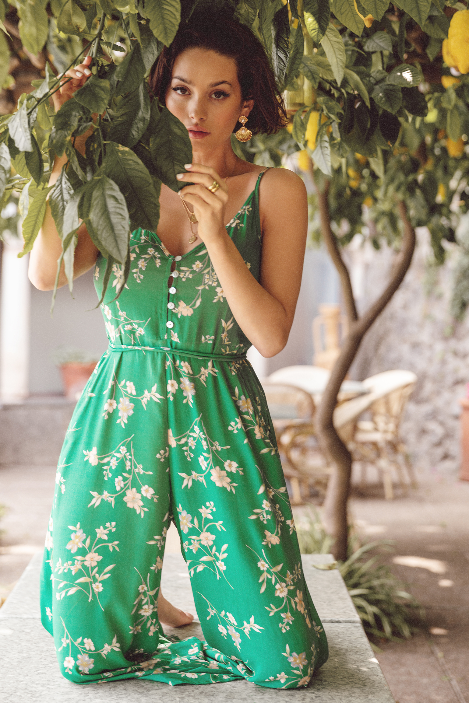 Kivari Melody Floral Jumpsuit