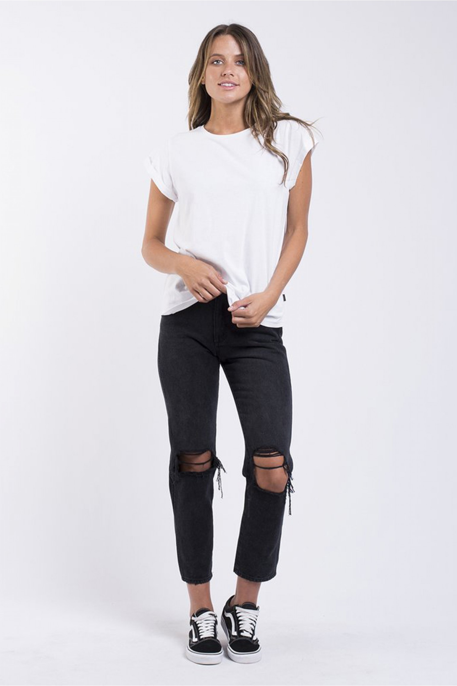 Silent Basics Lucy Tee White