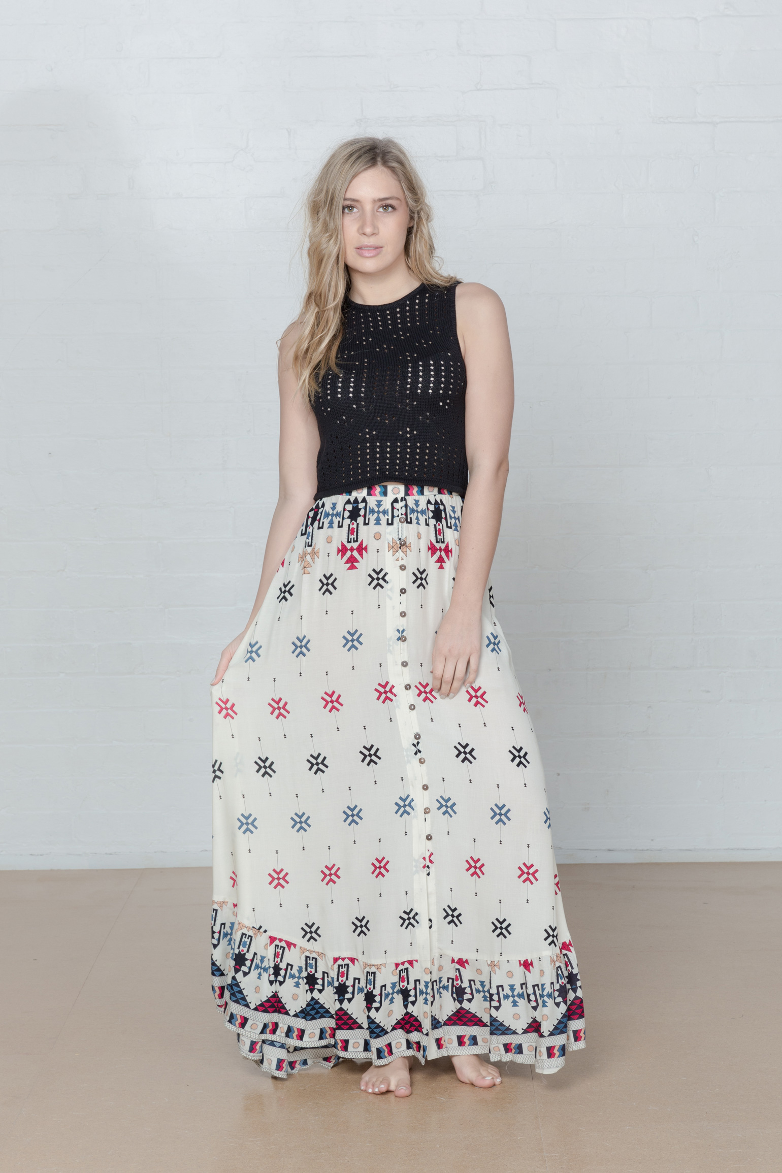Arnhem Vast Horizon Maxi Skirt