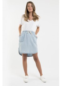 Foxwood Upstate Skirt Light Denim