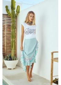 House of Skye Aloha Wrap Skirt