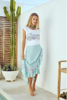 House of Skye Aloha Wrap Skirt