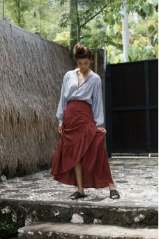 Rue Stiic Maya Midi Skirt