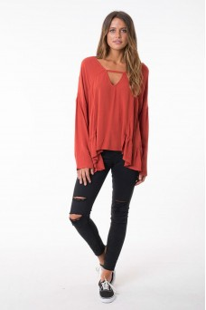 All About Eve Crash and Burn Top