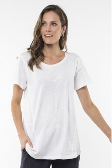 Elm Willow Tee White
