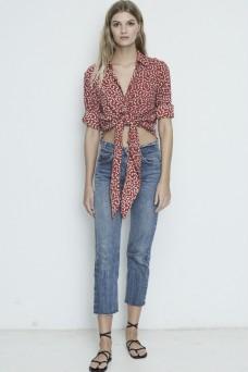Hosk Shirt Bow Print