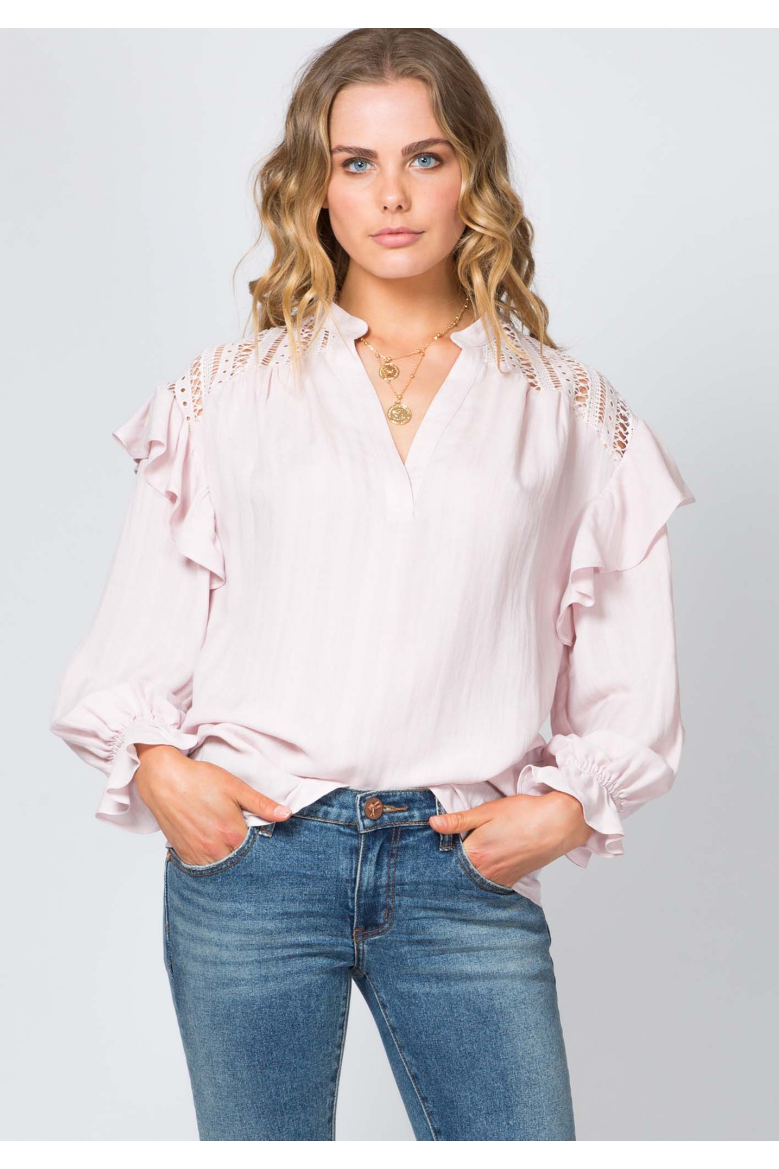 Three of Something Verse Blouse