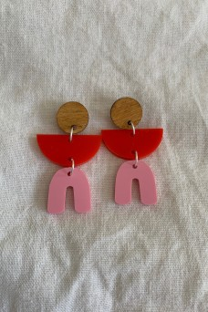 Hey Ronnie Three Piece Dangle Earrings