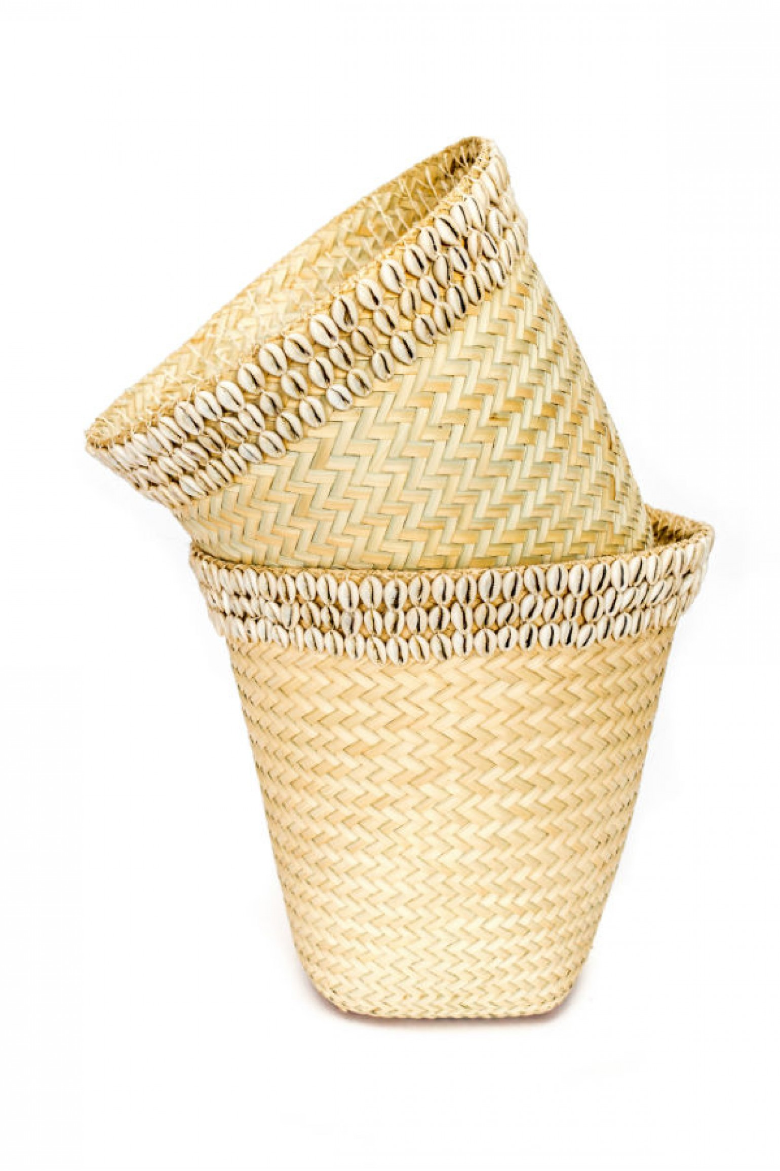 Basket with Shell Band