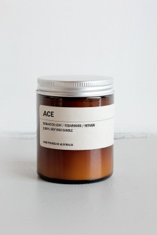 We are Posie 150g Amber Jar Soy Candle ACE
