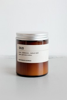 We are Posie 150g Amber Jar Soy Candle OUD