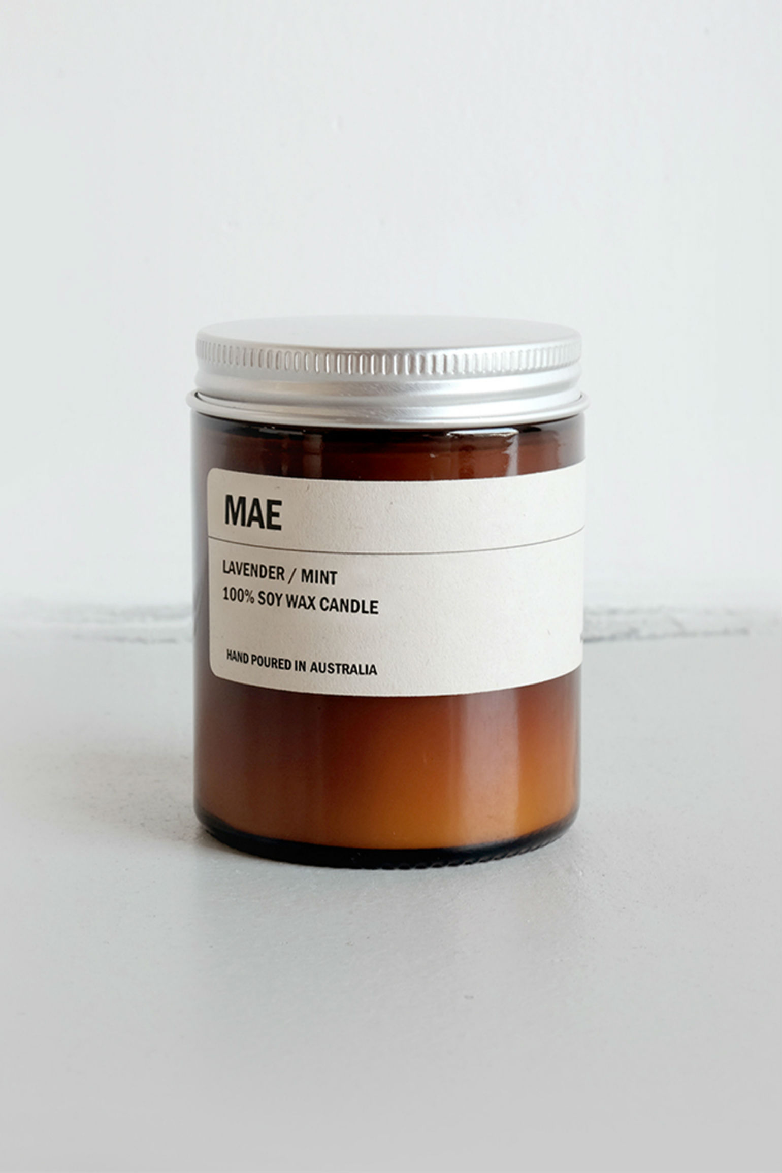 We are Posie 150g Amber Jar Soy Candle MAE