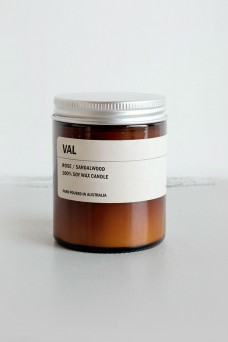 We are Posie 150g Amber Jar Soy Candle VAL