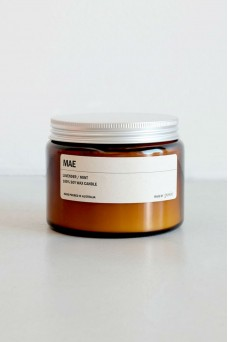 We are Posie 500g Amber Jar Soy Candle MAE