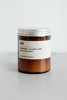 We are Posie 150g Amber Jar Soy Candle PIP