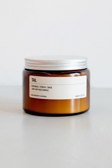 We are Posie 500g Amber Jar Soy Candle TAL