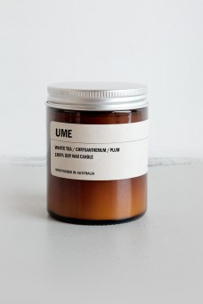 We are Posie 150g Amber Jar Soy Candle UME