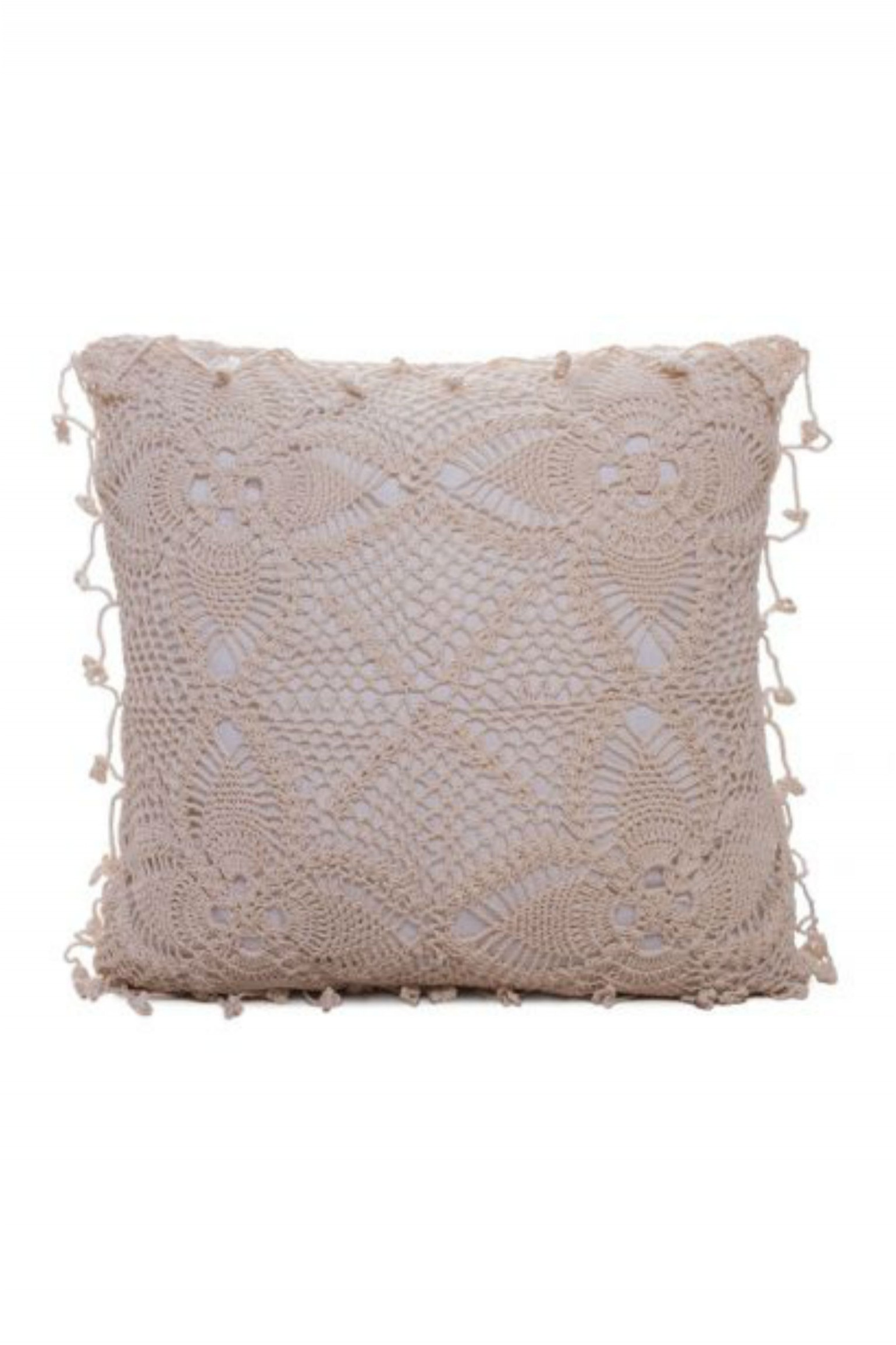 Bohemian Crochet Cushion