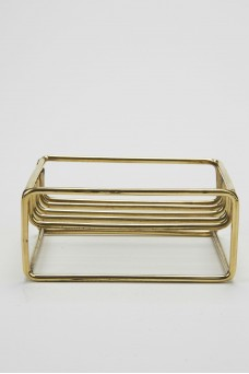 Atolyia Brass Soap Dish