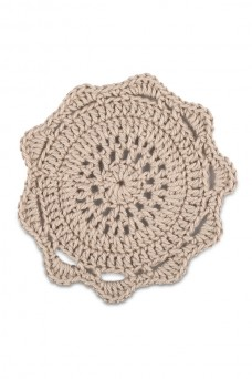 Close Knit Crochet Coasters SET OF 4