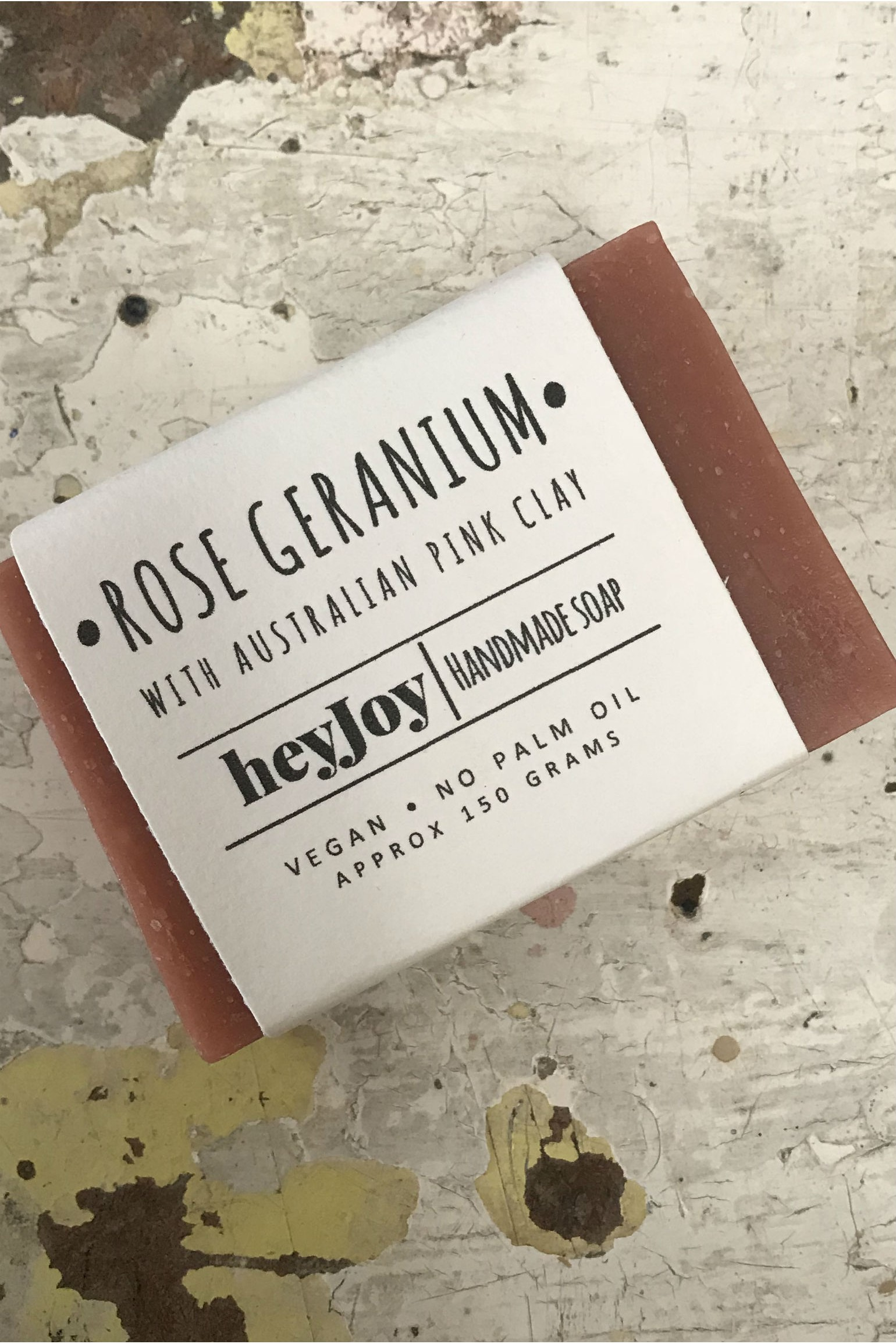 Hey Joy Soap Rose Geranium