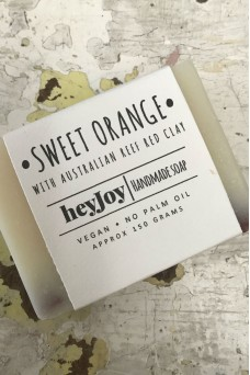 Hey Joy Soap Sweet Orange