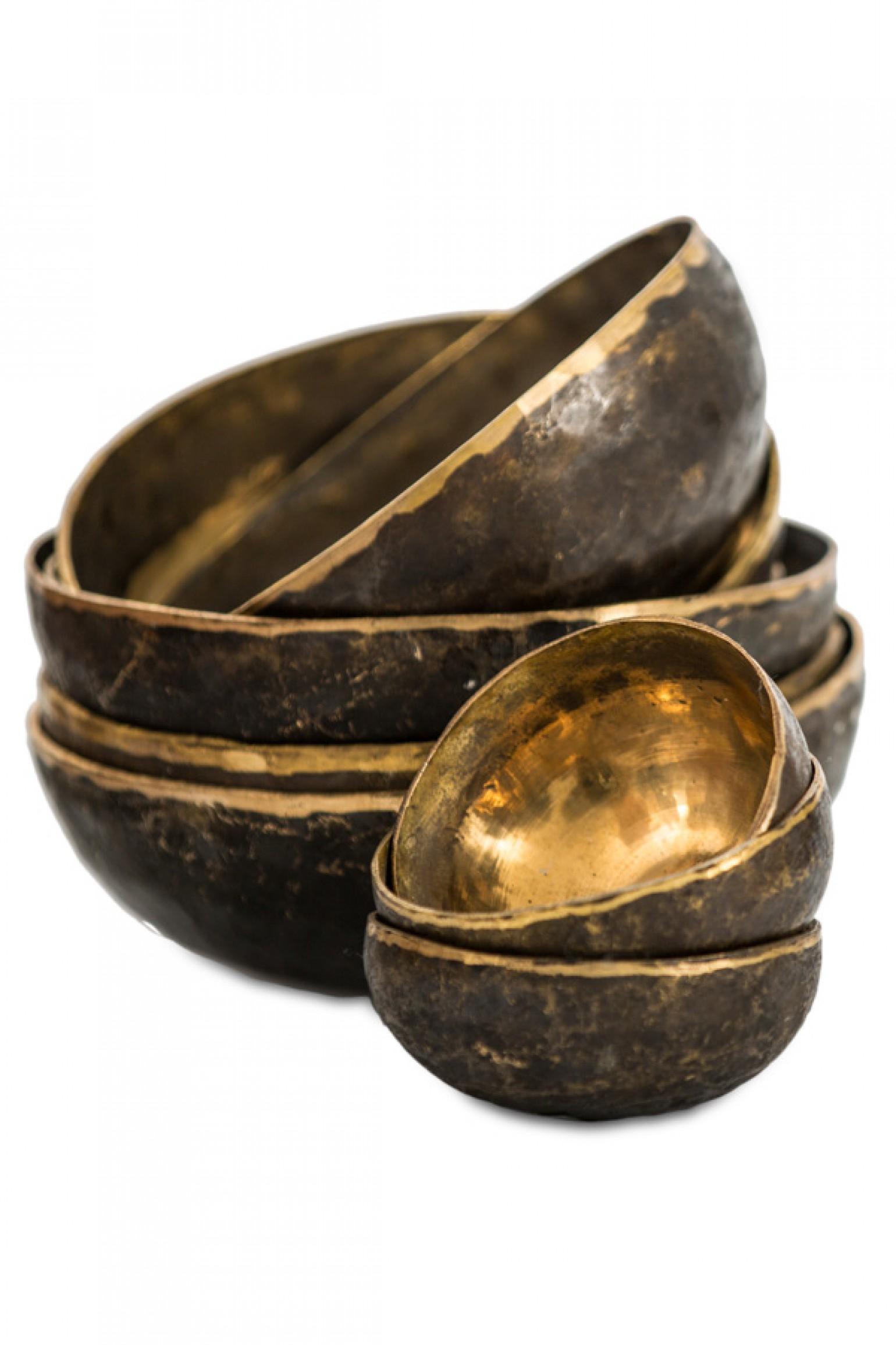 Cloth and Co Large Brass Bowl
