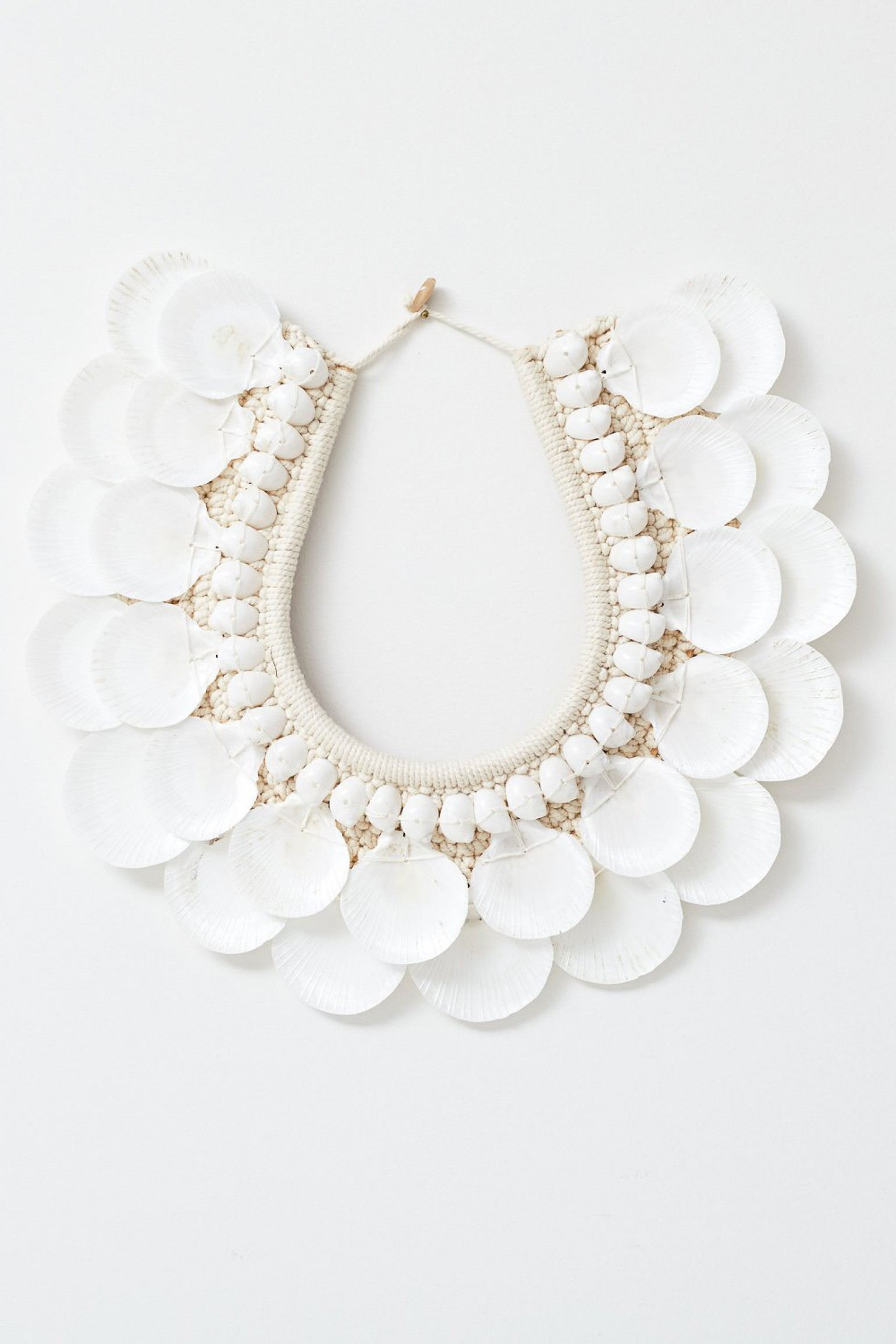 Tribal Necklace White